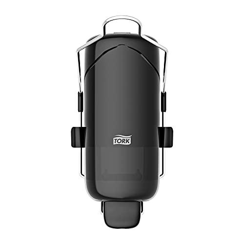 Tork tvåldispenser med spak för flytande tvål och antibakteriell handtvål, Elevation - 560109 - Hygieniskt S1-dispensersystem, svart