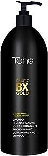 Tahe Magic BX Gold Champú Redensificador/Champú Ultrahidratante con Oro Líquido y Ácido Salicílico, 1000 ml