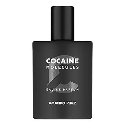 Amando Perez Cocaine Molecules - Eau de Parfum,50ml, unisex, contiene feromonas