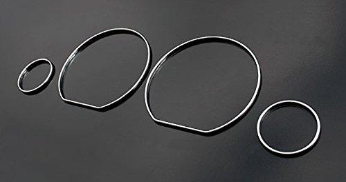 Chrom Instrumente Tacho Ringe Blenden