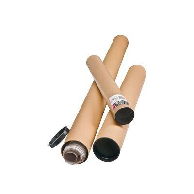 Unipapel 29861S - Tubo cartón para envíos, 80 mm, A2/A1