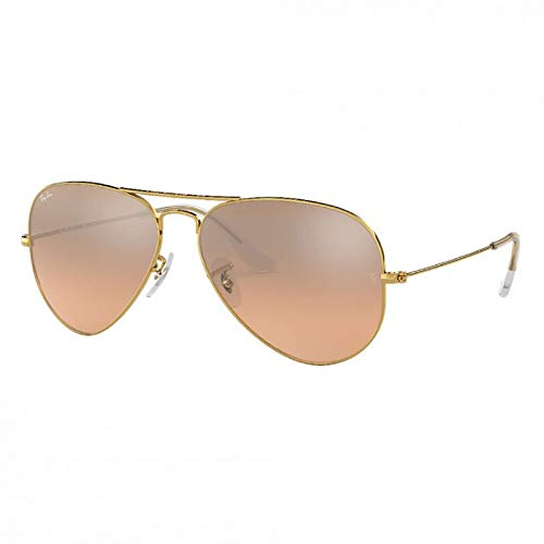 Ray-Ban Aviator Gradient Arista Pink Silver Mirror
