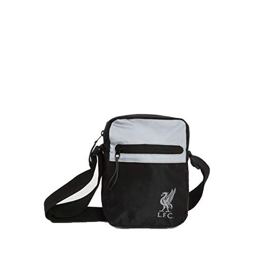 Liverpool FC Black/Silver Small Items Bag LFC Official