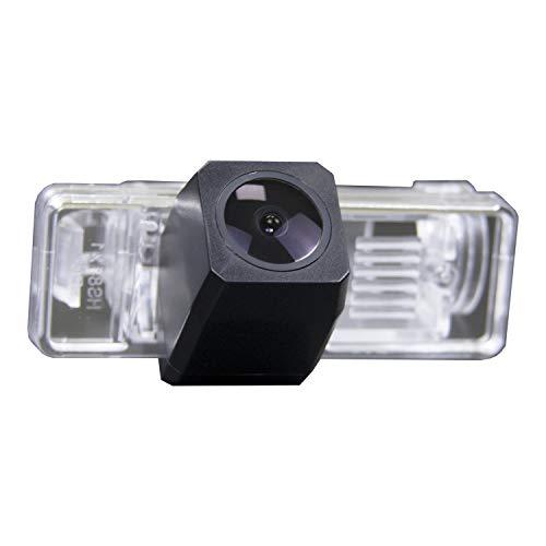 Farb Rückfahrkamera integriert in die Nummernschildbeleuchtung LED Kennzeichenbeleuchtung Kamera mit Distanzlinien für Mercedes Viano Vito & Sprinter W639 2004-2012