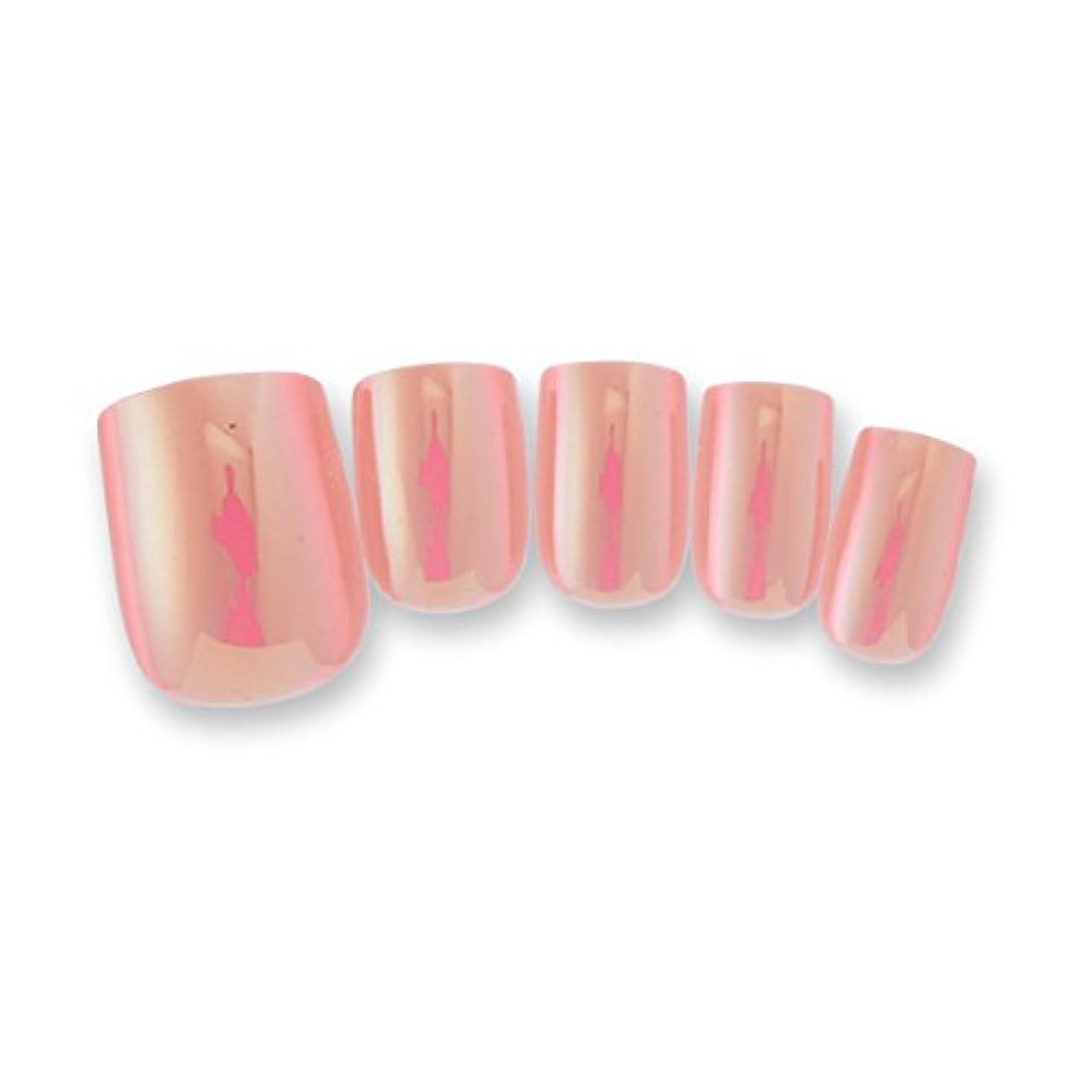 治療ヒロインそれ< OMD > Feel soft Nail tip No.17 ピンク (84枚入り) [ ペディキュアチップ ペディチップ ペディキュアネイルチップ ミラーチップ 足用ネイルチップ フットネイルチップ 親指 足 ネイルチップ ネイルシール ペディキュア チップ シール つけ爪 付け爪 ]