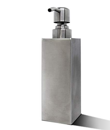 DREAMWIN Seifenspender, Seifenspender Edelstahl, Lotionspender Aus für Flüssigseifen Shampoo Desinfektionsmittel Küche Badezimmer WC usw.(250 ml)
