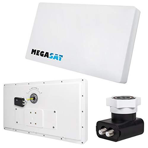 MegaSat 200211 Flachantenne D2  Profi-Line Weiß