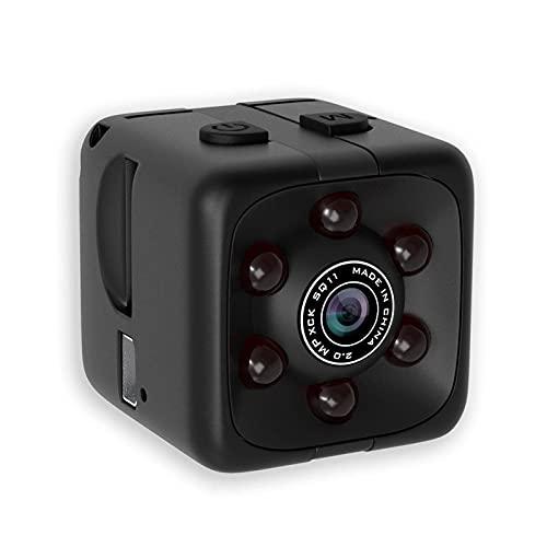 FANGYUN Mini cámara-1080P portátil Cube Spy Camera-WiFi cámara oculta cámara de seguridad interior y exterior con audio, detección de movimiento, visión nocturna