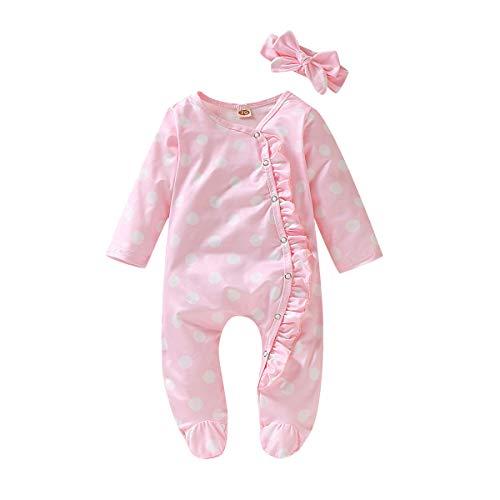 Baby Unisex Baby Sleep & Play, One-Piece Romper-Jumpsuit PJ, Footed Pajama