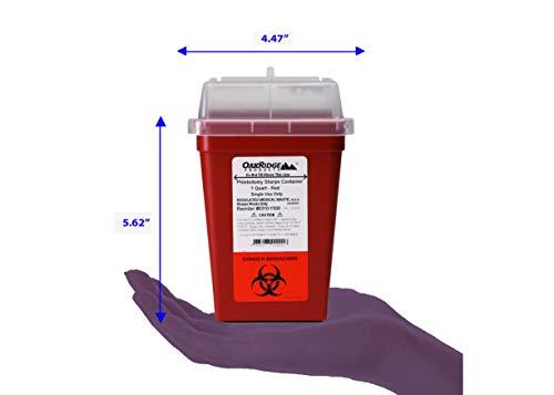buy  OakRidge Products 1 Quart Size (Pack of 10)   ... Diabetes Care