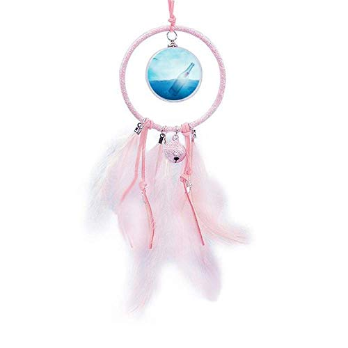 Beauty Gift Ocean Glass Bottle Science Nature Dream Catcher Small Bell Bedroom Decor