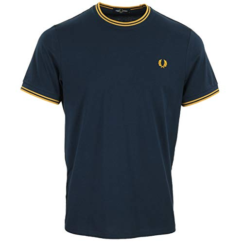 Fred Perry Twin Tipped T-Shirt, T-Shirt - XL