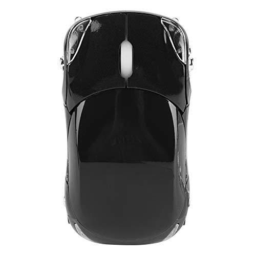 Goshyda Ratón inalámbrico, ratón inalámbrico 2.4G para PC/Tableta(Black)