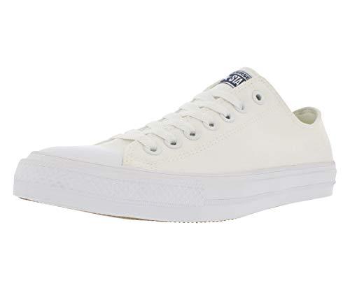 Converse Unisex-Erwachsene Chuck Taylor All Star Ii Sneakers, Weiß (White/white/navy), 41 EU