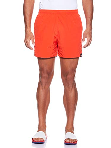 adidas Herren SOLID SH SL Badehose, Active Red, L
