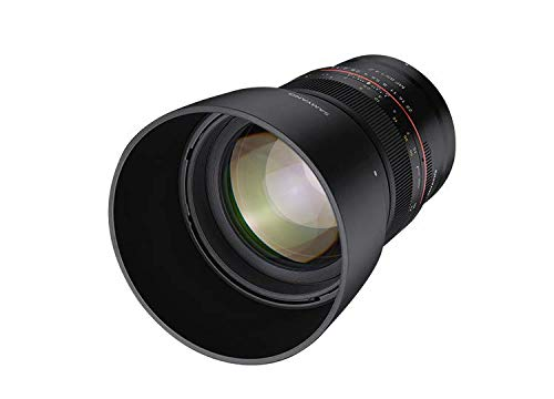 Samyang SA3702 - Objetivo MF para cámara Nikon Z (85 mm, F1.4) negro