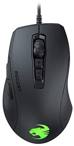 ROCCAT ROC-11-730 Kone Pure Ultra - Light ErgonoMic Gaming Mouse (16000 Dpi Optical Sensor RGB Lighting Ultra Light) Black (Renewed)