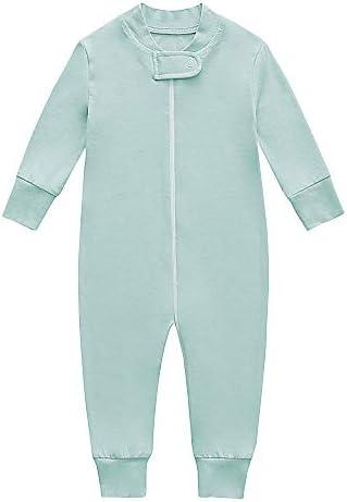 Bamboo Baby Footless Pajamas Boys and Girls Zip up Sleep and Play Long Sleeve Coveralls 18 24 product image