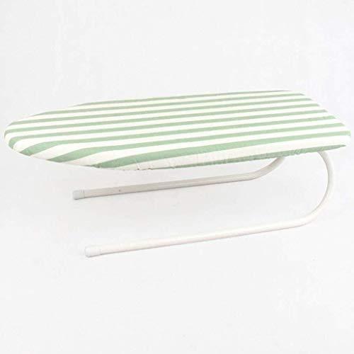 Tipo de plancha portátil Tipo de tabla de plancha Superficie portátil Ajuste de altura universal Malla de flujo de vapor Tablero de planchado, adecuado para planchado Pantalones y mangas Tamaño: 78 *