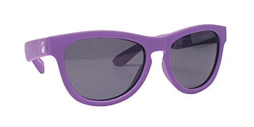 of ewin sunglasses brands Minishades Polarized Classic Kids Sunglasses, Grape Jelly Frame/Polarized Grey Lens