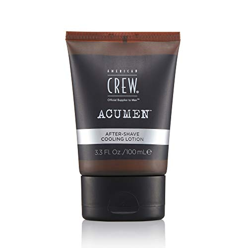 American Crew ACUMEN After Shave Cooling Lotion for Men, Dual-action Formula Helps Balance Skin's Moisture