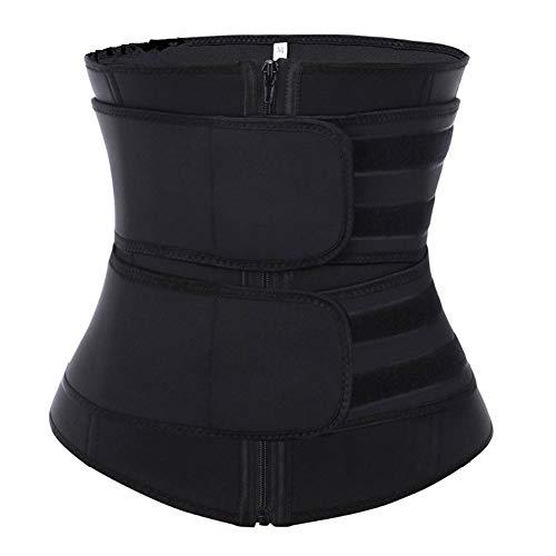 FADDARE Corset Trimmer Belt,Adjustable Breathable Trimmer Belt,Neoprene Sport Girdle with Zipper,Shaper for Female Slimming,Waist Shaping