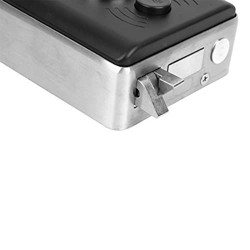 Cerradura inteligente, recordatorio de batería baja Cerradura inteligente con huella dactilar, para aplicaciones en interiores o exteriores de apartamentos en puertas de entrada