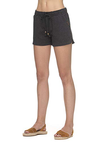 Ragwear Shorts Damen TELENA B Organic 2011-50012 Schwarz Black 1010, Größe:L