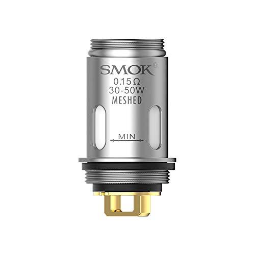 Original Smok Vape Pen Bobina de malla 0.15ohm Vaporizador electrónico de cigarrillos SMOK Vape Pen V2 Kit (5 pcs)