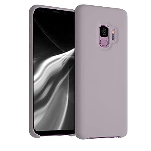 kwmobile Custodia Compatibile con Samsung Galaxy S9 - Cover in Silicone TPU - Back Case per Smartphone - Protezione Gommata Zucchero Filato