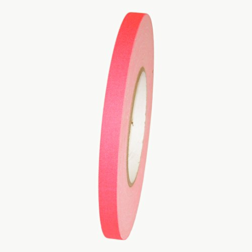 JVCC Stage-Set Spike Tape: 1/2 in. x 50 yds. (Fluorescent Pink)