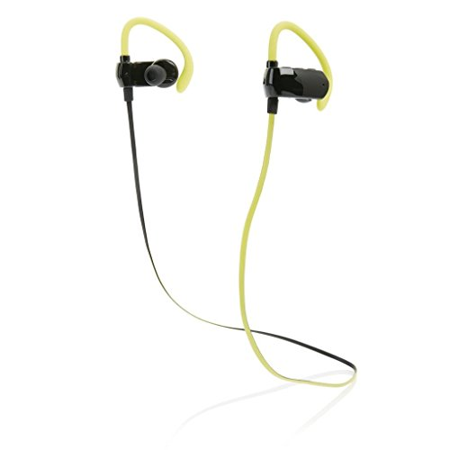 DX XD p326.226–Bluetooth In-Ear Headset für Sport, Schwarz und Limette