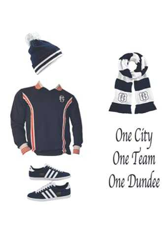 Dundee Fc Notebook: - Letter Size 6 x 9 inches, 110 wide ruled pages.