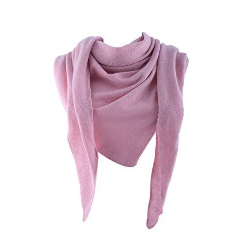 Really Nice Cashmere Eco Kaschmir Schal - Cloud Schal Unisex - Winter Strickschal 100% Wolle Pink Rosa