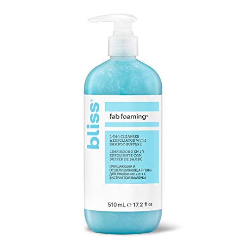 Bliss Fab Foaming 2-In-1 Cleanser & Exfoliator