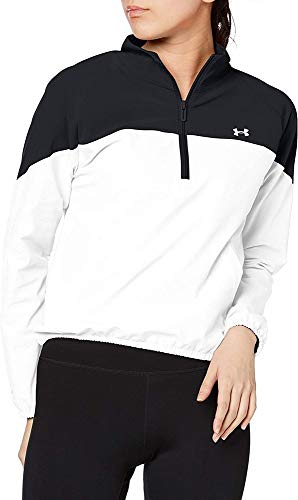 Under Armour Unisex Adulto Suéter de Encogimiento de Hombros Not Applicable, Blanco, L
