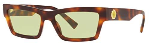 Versace 0VE4362 Gafas de sol, Havana, 55 para Mujer