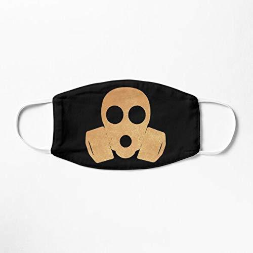 Gas Mask Anti Nuclear Radiation Fallout Protection Suit Hazmat Respirator Mask