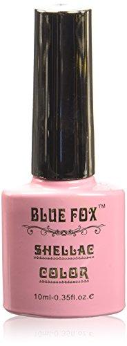 Vernis à ongles gel bleu Renard, rose saumon 10 ml