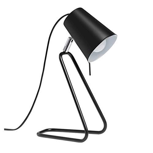 SLEVE Rivet Caden réglable Tâche Table Lampw Aucune Ampoule, Noir et Laiton