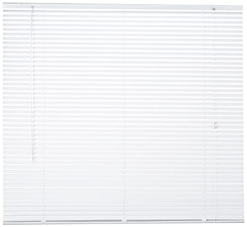Persiana Veneciana DEBEL, Retorcida, Metal Blanco, 120 x 160 cm