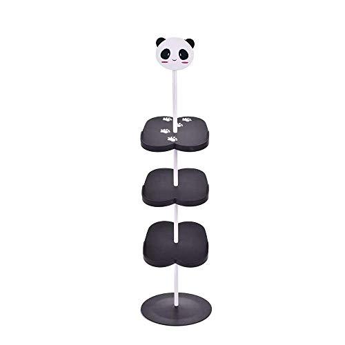 HYRGLIZI Zapateros para niños de Dibujos Animados, Zapateros Verticales de pie para Adultos, Regalos para el día de los niños, Childblack