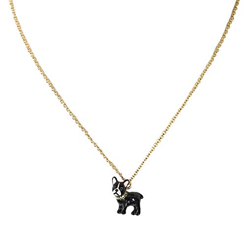 Kate Spade Ma Cherie Antoine French Bull Dog Pendant Necklace
