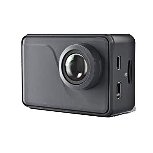RJJG V50 Pro Native 4K / 30fps 20MP WiFi-Action-Kamera EIS Touch Screen 30m Wasserdicht 4k-Sport-Kamera StützExternal l11.13A (Color : Camera)