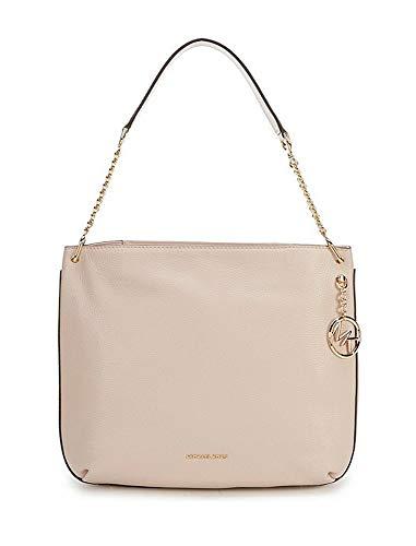 Michael Kors Lillie Large Leather Zip Hobo Bag - Soft Pink
