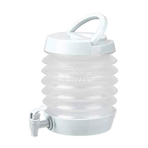 Camp4 Faltbarer Wasserspender 3,5 Liter, Farbe: Weiß