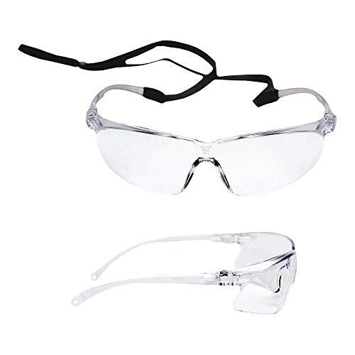 3M Tora0 71501-00001M Gafas de Seguridad, transparente