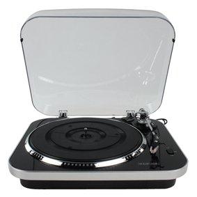 Tocadiscos de vinilo USB preamplificado 33/45/78 rpm