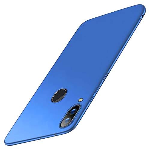 CXvwons Hülle für Samsung Galaxy A40 Hülle, Ultra Dünn Matt Galaxy A30 Handyhülle Stoßfest Anti-Fingerabdruck Hardcase Bumper Cover Schale Schutzhülle für Samsung Galaxy A20 (Galaxy A40, Blau)