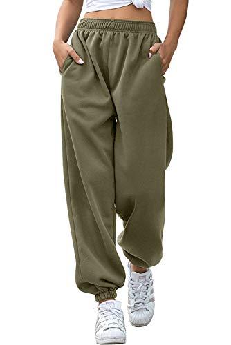Pantalones deportivos de mujer y niña, pantalones anchos Hip Hop, para correr,...